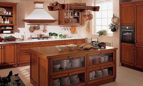 Italian Traditional Kitchen Cabinets