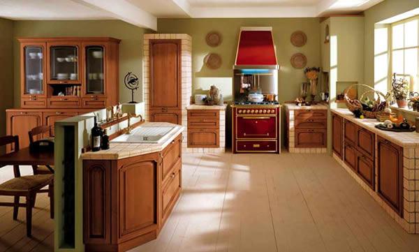 Cocinas clasicas cocinas italianas puertas y cocinas - Cocinas clasicas modernas ...