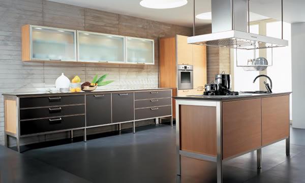 Cocinas italianas cocinas modernas puertas y cocinas for Cocinas italianas modernas